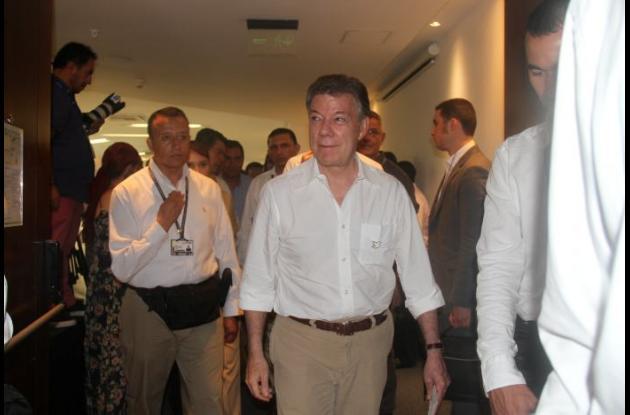 Juan Manuel Santos, presidente de Colombia, dijo ayer en Cartagena que Bolívar está entre los tres finalistas que disputan la sede de los Juegos Nacionales de 2019.