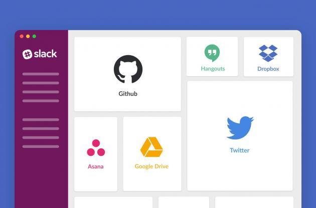 Aplicación Slack para comunicaciones corporativas.