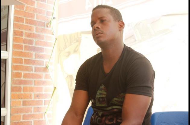 Justo Ojeda, tio del joven de 17 años Keiber Ojeda, quien murió en Marialabaja cuando un conocido le dio un balazo en la cabeza por accidente.