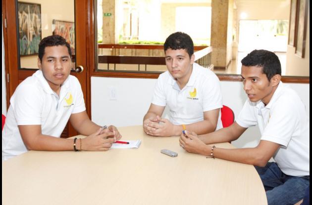 Anderson paternina (DER.) y Jorge Herrera (Izq.) son dos jóvenes cartageneros que crearon el emprendimiento Neocomi
