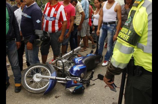 En los hechos registrados perdió la vida Liliana Lambis Támara, de 45 años de edad, quien viajaba como parrillera.