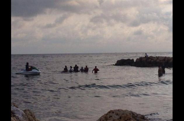 Kevin Bravo se ahogó en las playas de El Laguito.