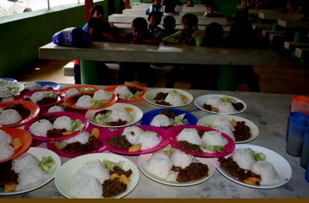 El Gobierno departamental anunció que es prioridad la seguridad alimentaria para la población infantil.
