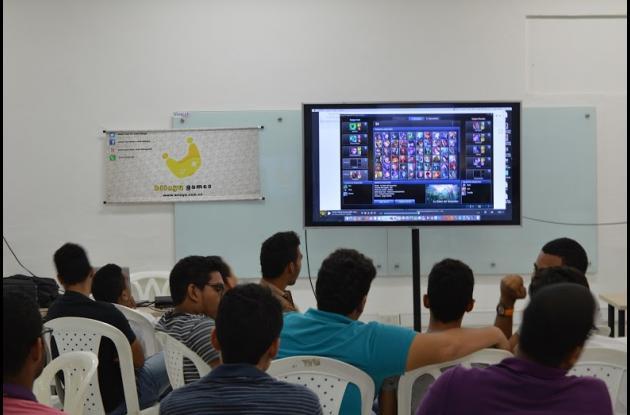 Torneo de videojuegos en Cartagena.