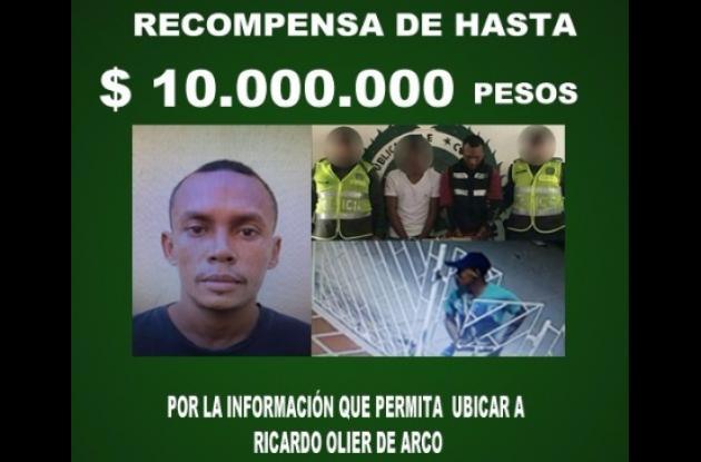 Policía ofrece $10 millones por el delincuente que se voló tras balacera en la sede del sindicato. A su presunto acompañante le legalizaron captura. El buscado es alias el Pito.