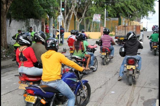 Se cumplió el lanzamiento de la Escuela de Formación para Motociclistas en Sincelejo.