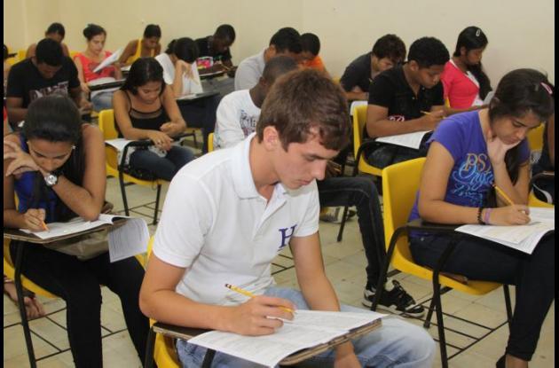 examen de admisión UDC