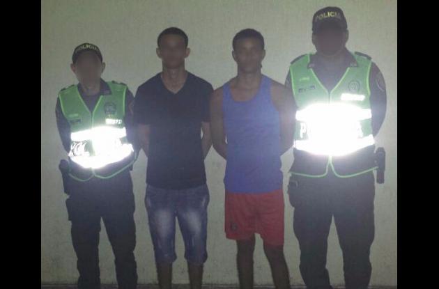 'El Yefe' y 'el Beto', capturados por homicidio de Daniel Montoya.