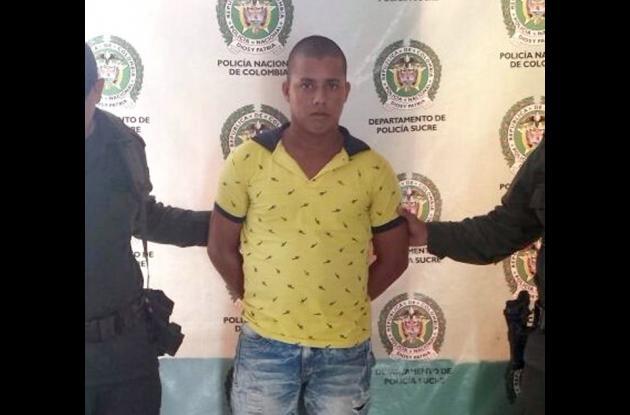 José Fernando Yepes Soria, capturado como miembro del Clan Úsuga.