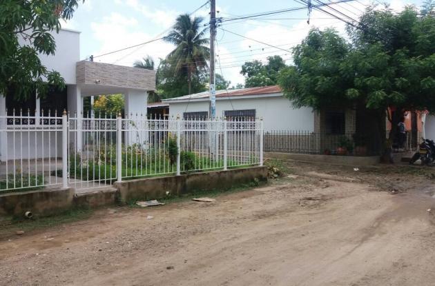Casa donde funciona la Fundación, en el barrio Buenos Aires de El Carmen,