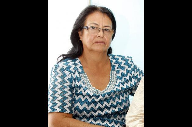 María Estela Duanca, vocera de la Fundación Restaurados por Cristo.