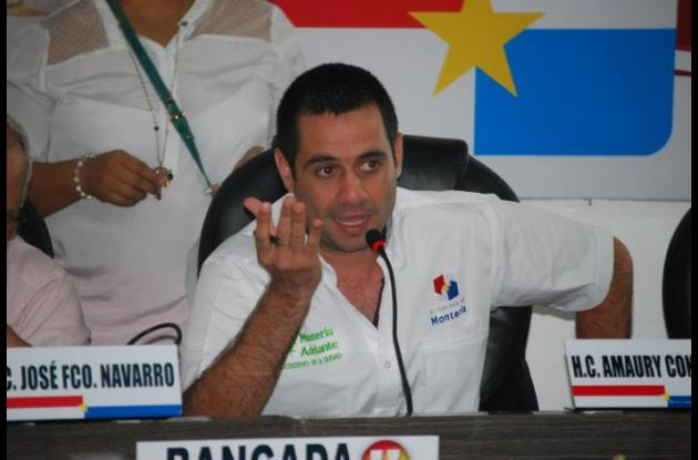 Salim Ghisays, secretario de Gobierno de Montería.