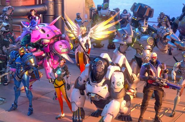 Overwatch es la incursión de Blizzard en los juegos de disparos en primera persona.