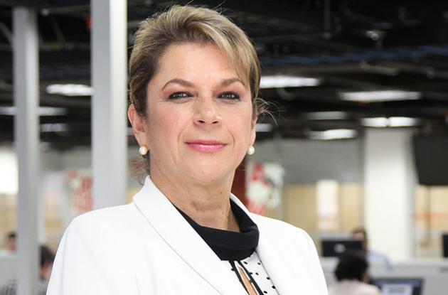 La superintendente Patricia Duque Cruz