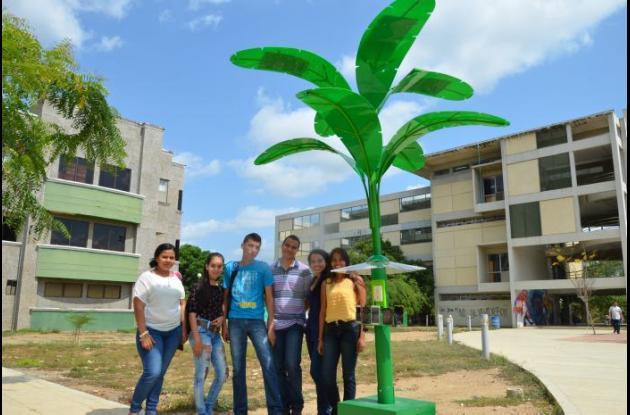Este plátano solar podría ser incluido en la Ciudad Verde en la que pretende convertirse Montería.