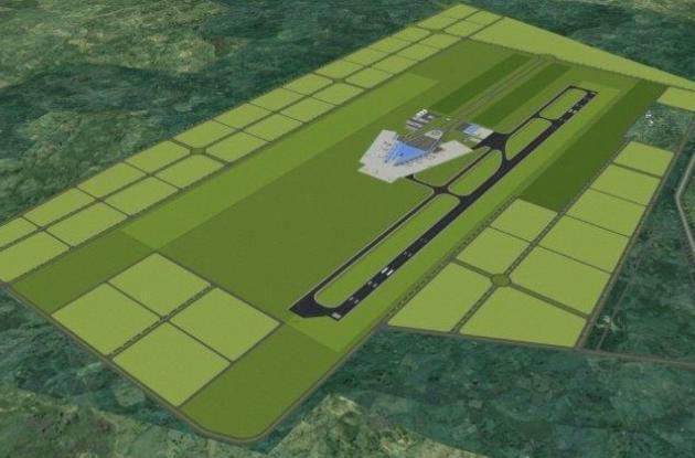 Imagen conceptual del diseño de la ciudadela aeroportuaria.