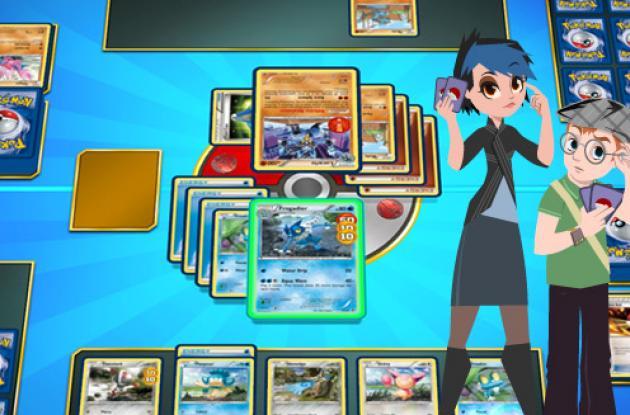 Juego de cartas coleccionables de Pokemón en tu celular.