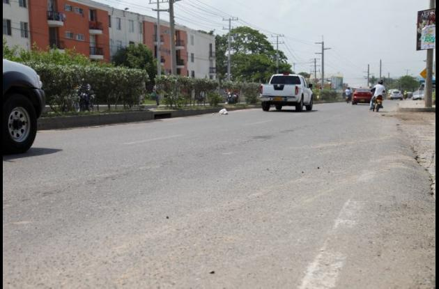 Eliseo Romero fue arrollado por una moto en la carretera Troncal de Occidente, en Ternera. Murió días después en una clínica.