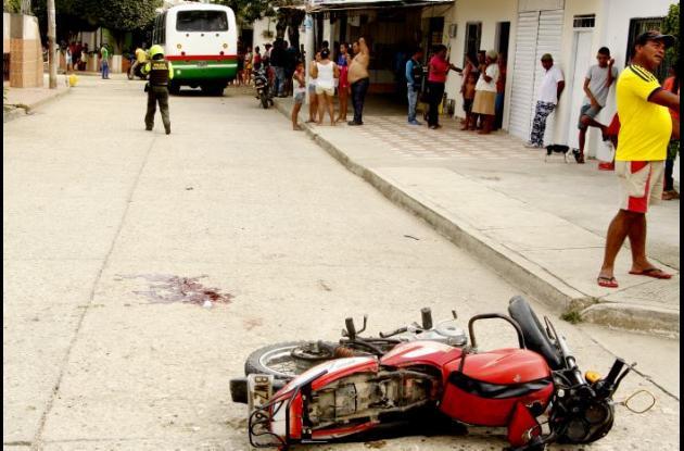Onel Merlano, falleció luego de casi un mes de haber resultado gravemente herido en un accidente ocurrido en el barrio Pablo Sexto.