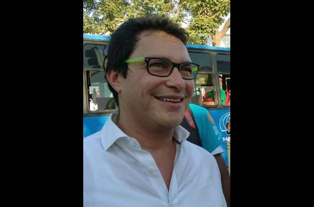 Carlos Caícedo Omar, líder del movimiento Fuerza Ciudadana.