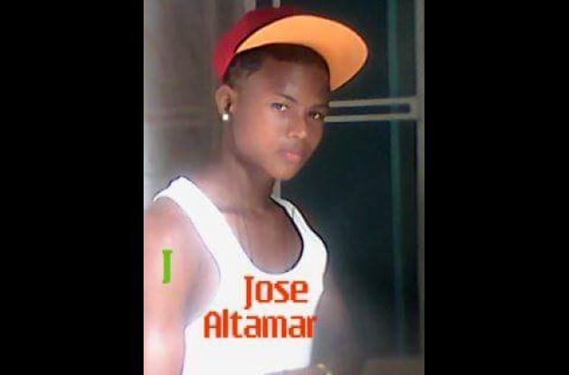José Altamar, murió en choque de motos en Bayunca.