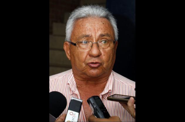 Franklín Donado, presidente de la Unión de Usuarios de los Servicios Públicos.