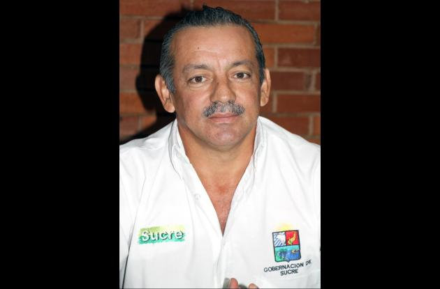 José Nicolás Vega, coordinador de la Unidad de Gestión del Riesgo en Sucre.
