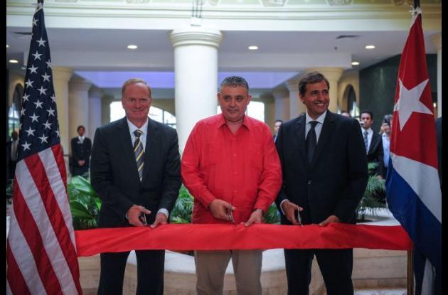 Inauguración del Starwood Hotels & Resorts para Cuba.