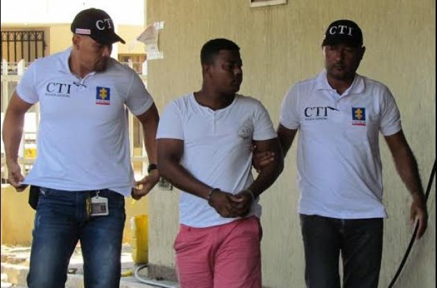 Manuel Gutiérrez. Taxista capturado, señalado de violar a varias mujeres en Cartagena.