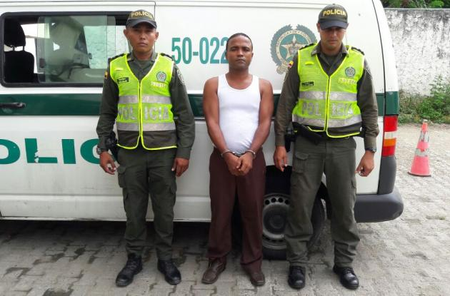 Manuel Julio Luna fue enviado a la Cárcel de Ternera.