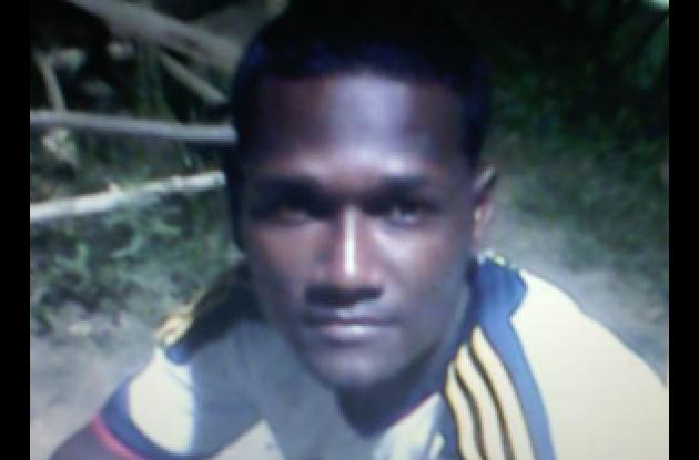 Esnaider Escobar Cabrera, asesinado.