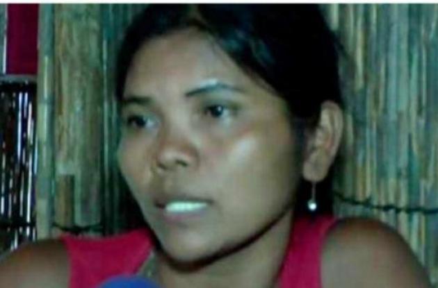Adelaida Martínez, viuda del líder indígena encontrado en una fosa común.