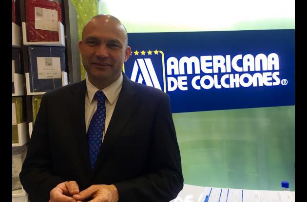 Gerente de Marca de Americana de Colchones, Armando Caycedo Pardo