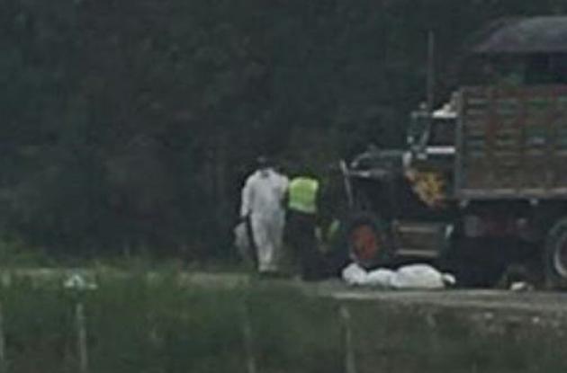 Dos hermanos murieron en accidente en la vía Montería- Arboletes.