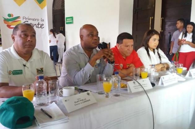 reunión minambiente Cartagena