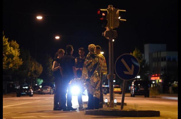 la policía de Múnich pidió a los habitantes de la tercera ciudad de Alemania, con millón y medio de habitantes, que no salieran de casa.