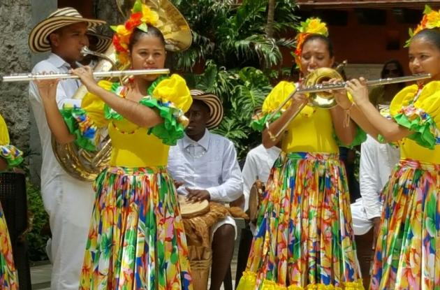 Los músicos bolivarenses viajaron desde el 17 de julio como parte de un intercambio cultural.