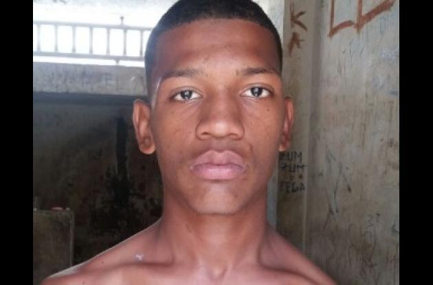 Ronaldo Peña Arévalo, alias 'el Ñato'. Habría matado a Juan Cuestas en La Esperanza.
