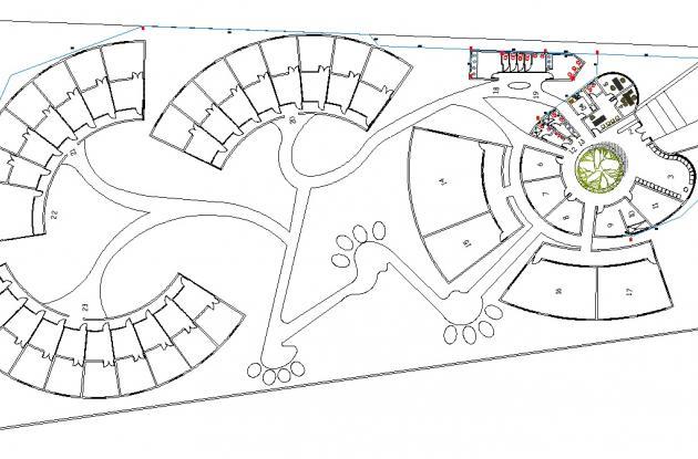 Este es el plano de la construcción del centro de bienestar animal en Bolívar.