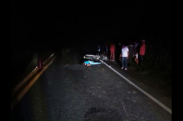 Accidente en San Jacinto, Bolívar