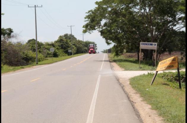 El agricultor José Garzón fue arrollado por un vehículo cuando cruzaba la variante Mamonal-Gambote. Murió en el acto.