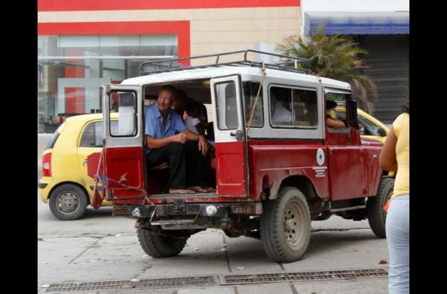 Jeeps colectivos