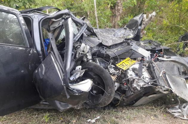 Un muerto y un herido en accidente en Vía del Mar, en Juan de Acosta, Atlántico.