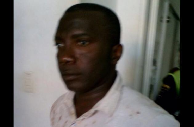 John Jairo Castro, capturado porque habría matado a su exesposa Mimi Urbina.