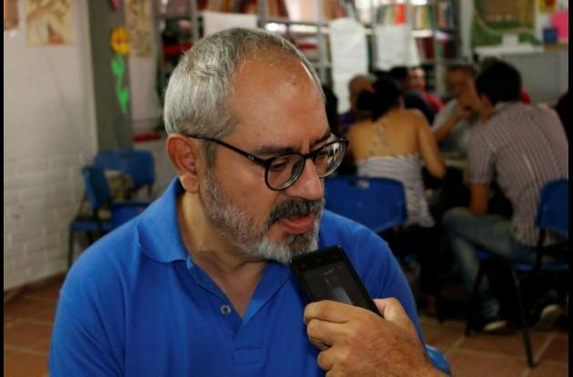 José Luis Márquez, conductor de las mesas de trabajo.