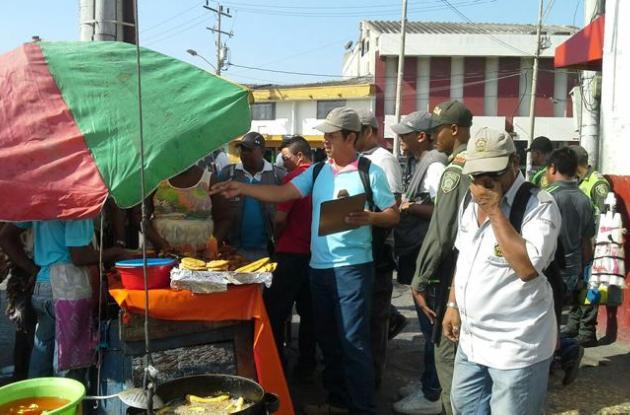 Espacio público en Cartagena
