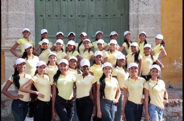 Candidatas al Reinado de la Independencia 2016.