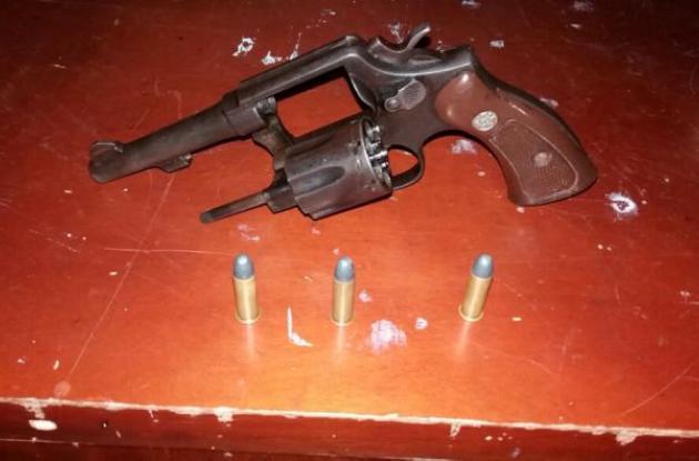 Revólver calibre 38