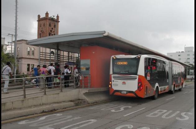 Aún no se conoce cual será la nueva ruta alimentadora. La próxima estación en entrar en servicio es la de Villa Olímpica.