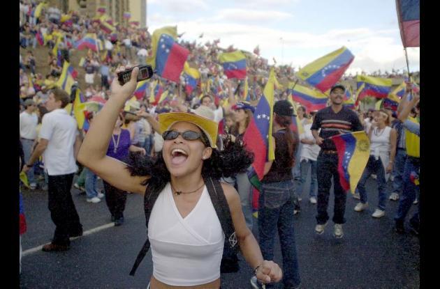 La marcha opositora busca acelerar el referendo revocatorio contra Nicolás Maduro.